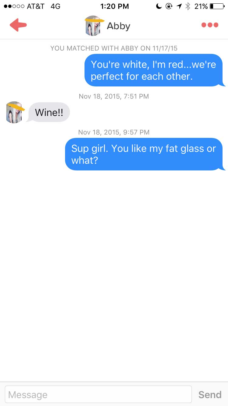 Wine about it online dating