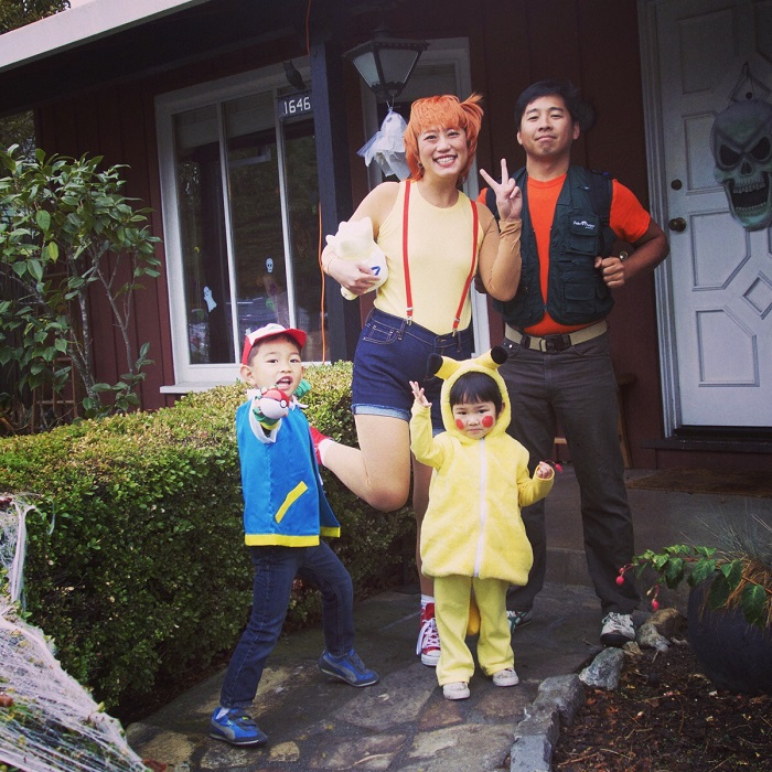 Halloween Family Costumes 1000 ideas about family halloween costumes on pinterest family halloween halloween costumes and family costumes 4 This Pokfamily