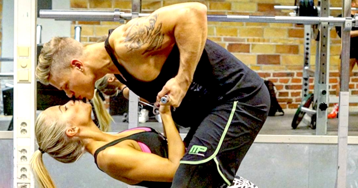 Fitness couple who post lovey-dovey workout pics are huge on Instagram ...