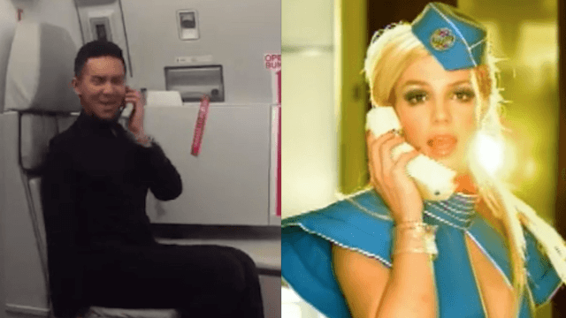 What flight attendants really get up to when no one else ...  Toxic Britney Spears Flight Attendant