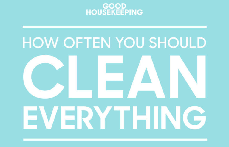 Here's a guide to how often you need to clean everything in your house (aka how to be a grownup).