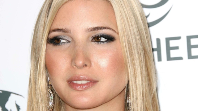 Ivanka Trump went through a punk phase