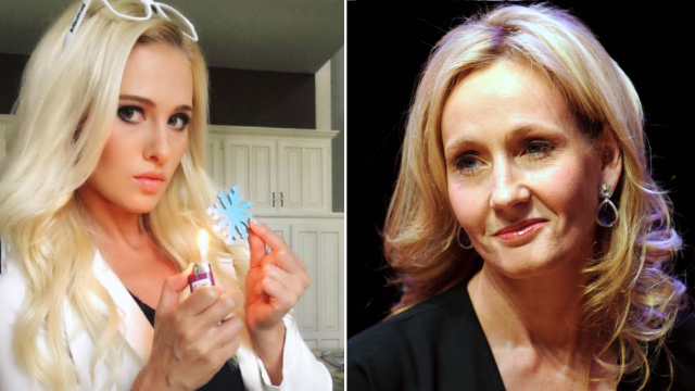 Tomi Lahren just learned what happens when JK Rowling comes for you