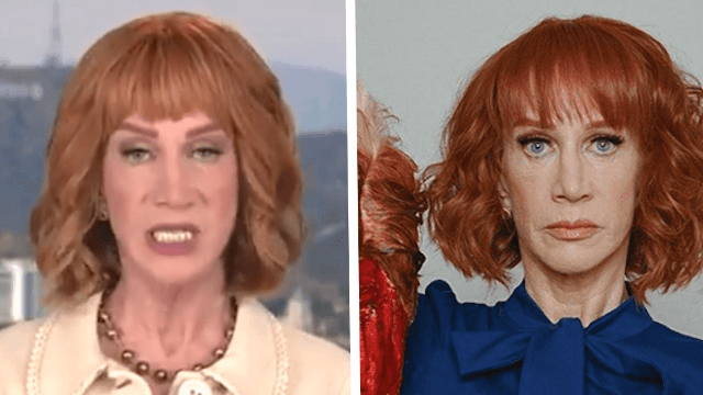 Kathy Griffin retracts apology, rips backlash over gory Trump photo shoot