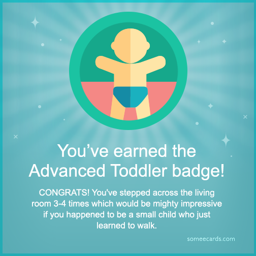 9 fitbit badges for the extremely lazy someecards health