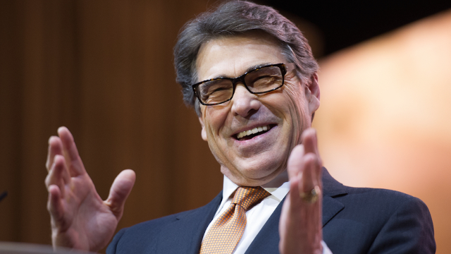 US Energy Secretary Rick Perry says fossil fuels prevent sexual assaults