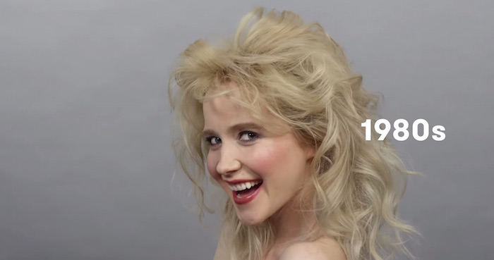 100 Years Of Russian Beauty Trends In 90 Seconds. It's
