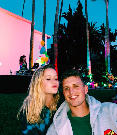 Reese Witherspoon's daughter's new beau is compared to father Ryan Phillippe class=
