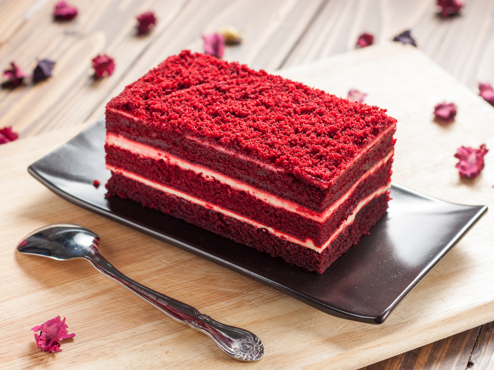 Like remember my Valentine's Day cake? It was just shredded beats layered with a kefir reduction. Totally foul.