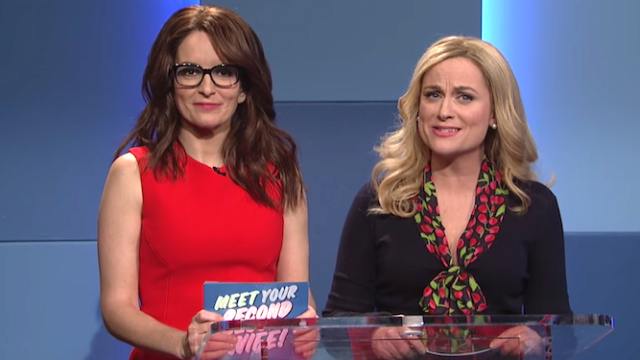 snl amy poehler and tina fey meet your second wife saturday