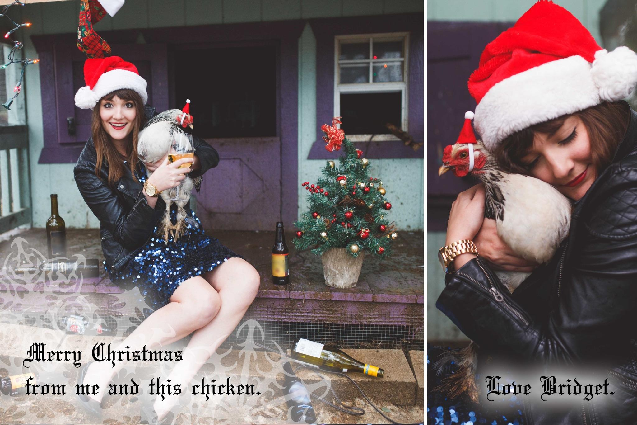 Single lady\'s hilarious Christmas cards will make you feel less ...