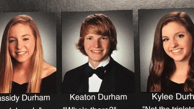 Funny Yearbook Quotes Twins: Triplets Discover Their True Purpose In Life: A Corny
