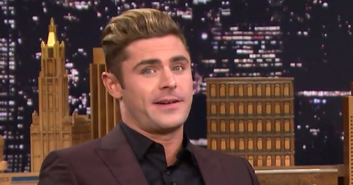 joan rivers hairstyle : Jimmy Fallon made Zac Efron bring back his eighth-grade hairstyle, and ...
