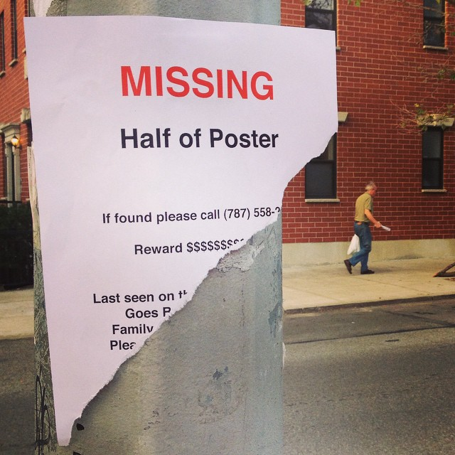 Someone Has Been Putting Up These Amusing Missing Posters For – Funny Missing Person Poster