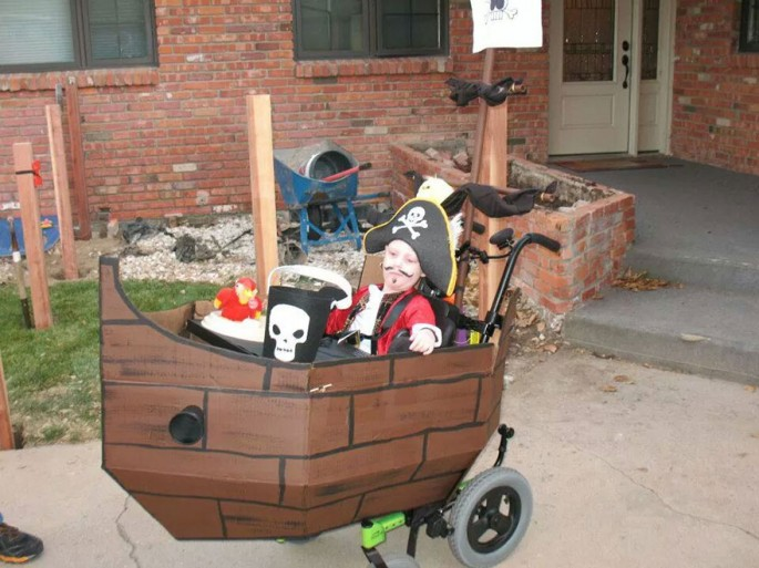 Image result for wheelchair costumes pirate