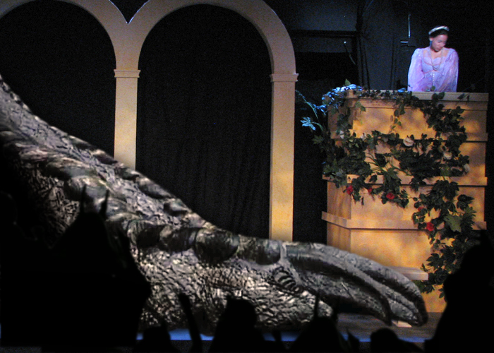 godzilla in romeo and juliet at the colonial little