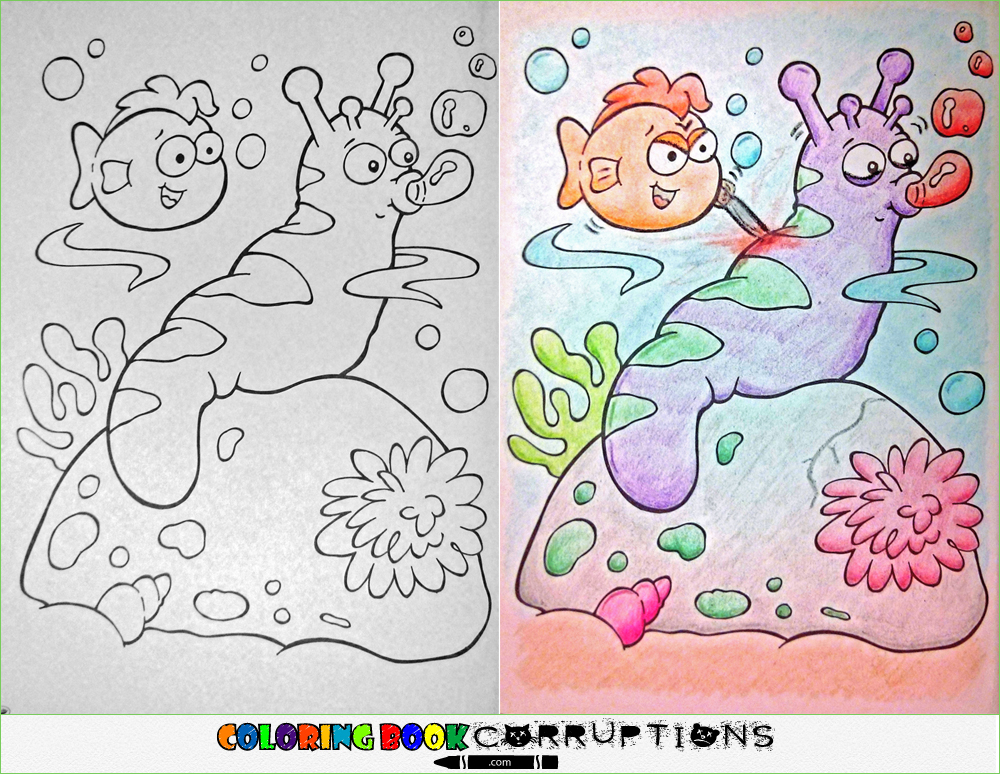 Coloring Book Corruptions Is The Best And Worst Thing To