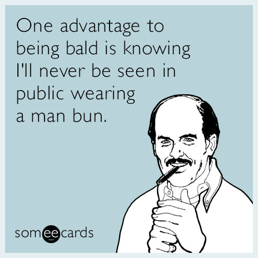 Bald Man Jokes