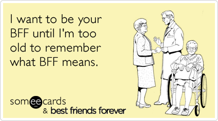 Ecards About Being Best Friends