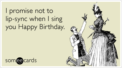 beyonce lip sync sing obama birthday ecards someecards Singing Lessons In Liberty Hill