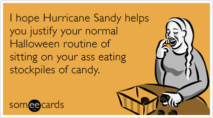 Hurricane Sandy Halloween
