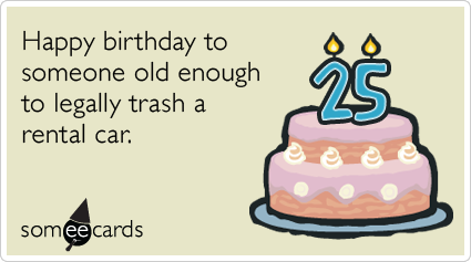 twenty ninth lying thirty women birthday funny ecard