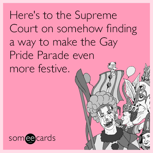 Gay pride e card