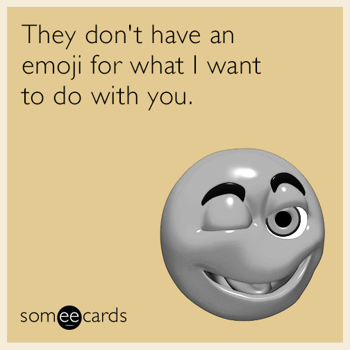 Best Sexual Emoji Messages