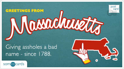 someecards.com - Giving assholes a bad name - since 1788.