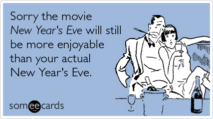 your sad New Year's Eve