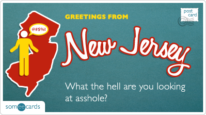 someecards.com - What the hell are you looking at asshole?