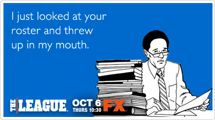 someecards - when you care enough to hit sendFunny Fantasy Football Pictures