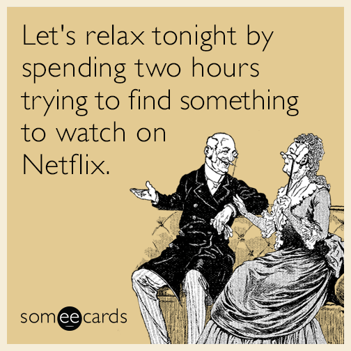 Let's Relax Tonight By Spending Two Hours Trying To Find