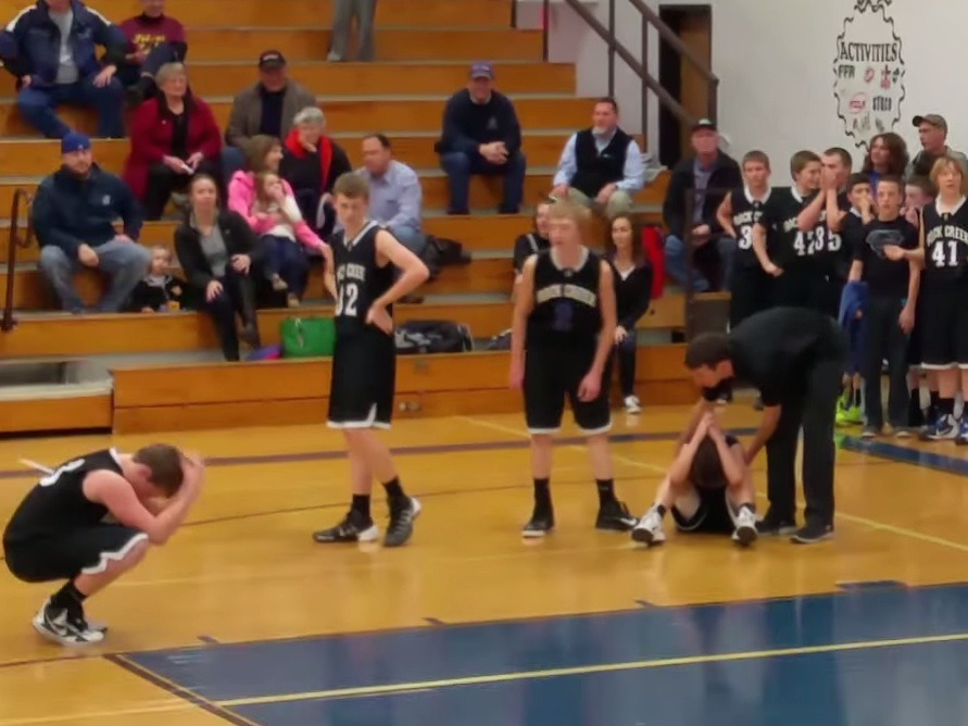 Last-second basketball loss is perfect metaphor for finding out you need to work this weekend.