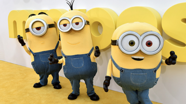 Minions are attacking us in the real world now.