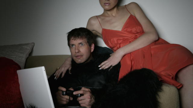 A man went to insane, illegal lengths to play video games without his girlfriend interrupting.