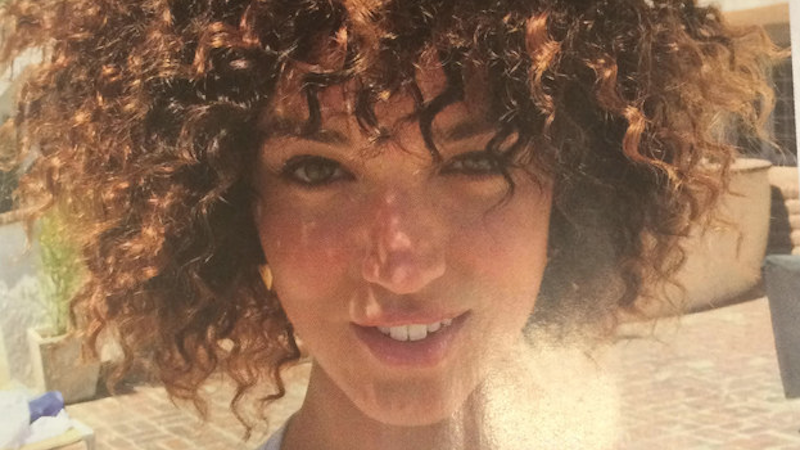 """Allure magazine's photo shoot on how white girls can get """"Afro"""" hair didn't go over well."""