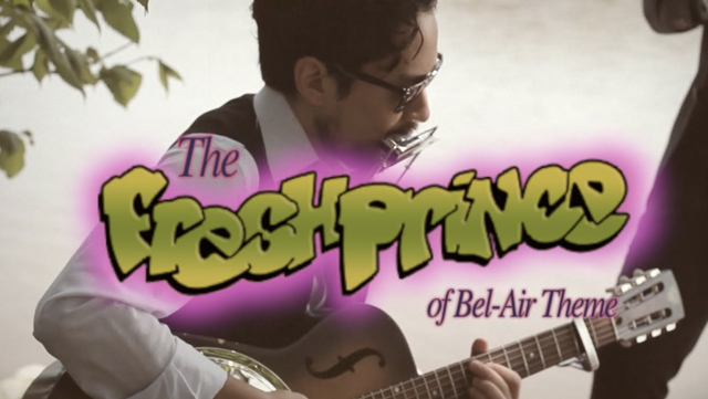 This blues cover of the 'Fresh Prince of Bel-Air' theme will flip-turn your world upside down.