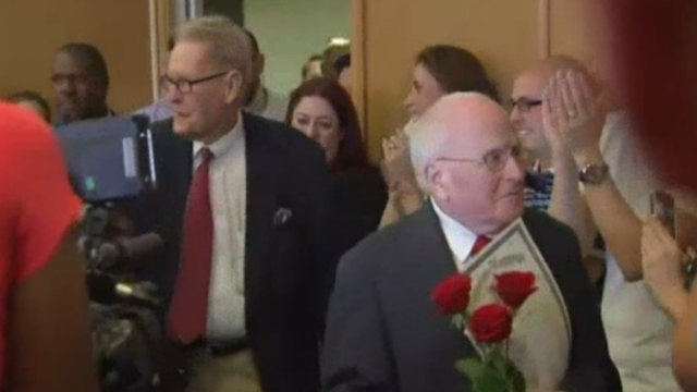 Jack and George waited 54 years, but their reward was Dallas' first same-sex marriage.
