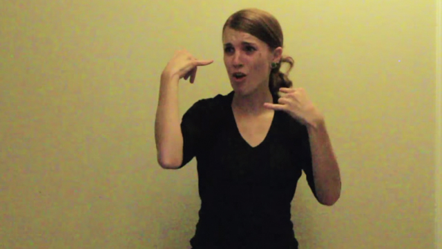 Lose yourself in this woman's awesome sign language performance of Eminem's 'Lose Yourself.'