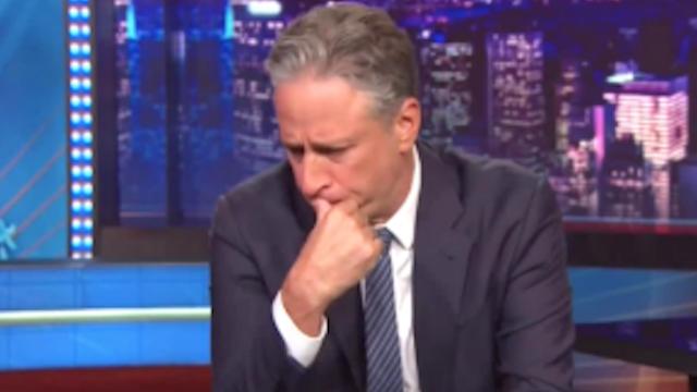The night after the Emanuel AME Church Massacre, Jon Stewart ran out of jokes.