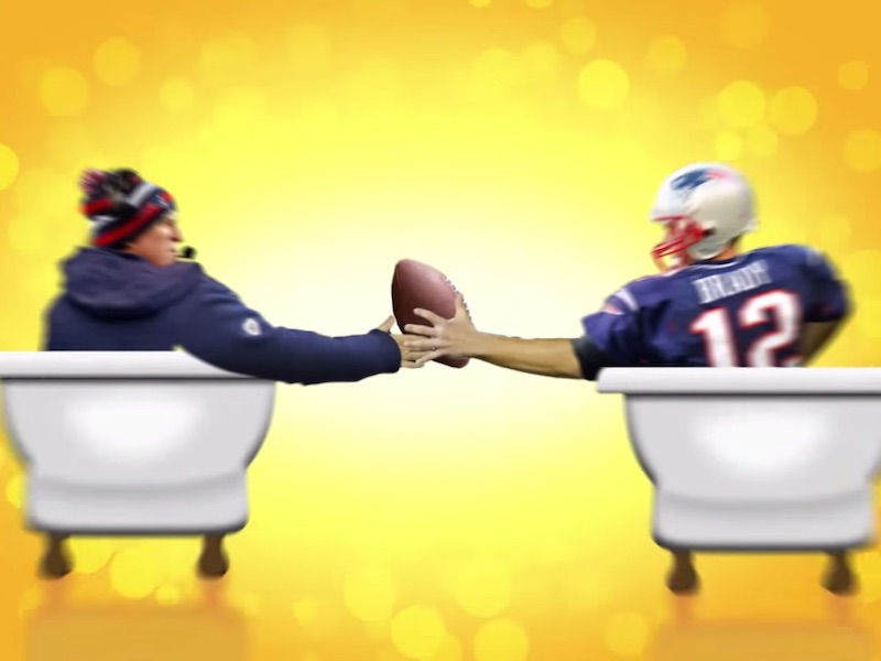 Finally, a Cialis pill for New England Patriots players with deflated balls.