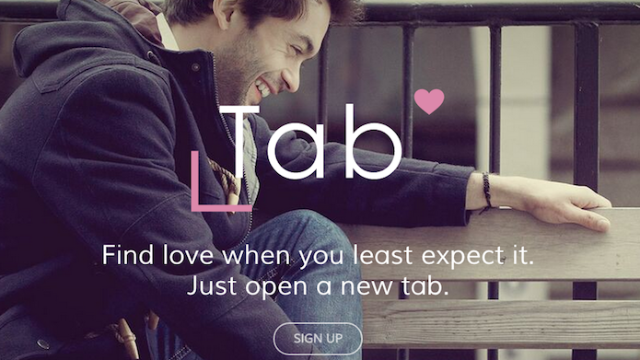 There's a new dating app that's built into your browser so you can never take a break.