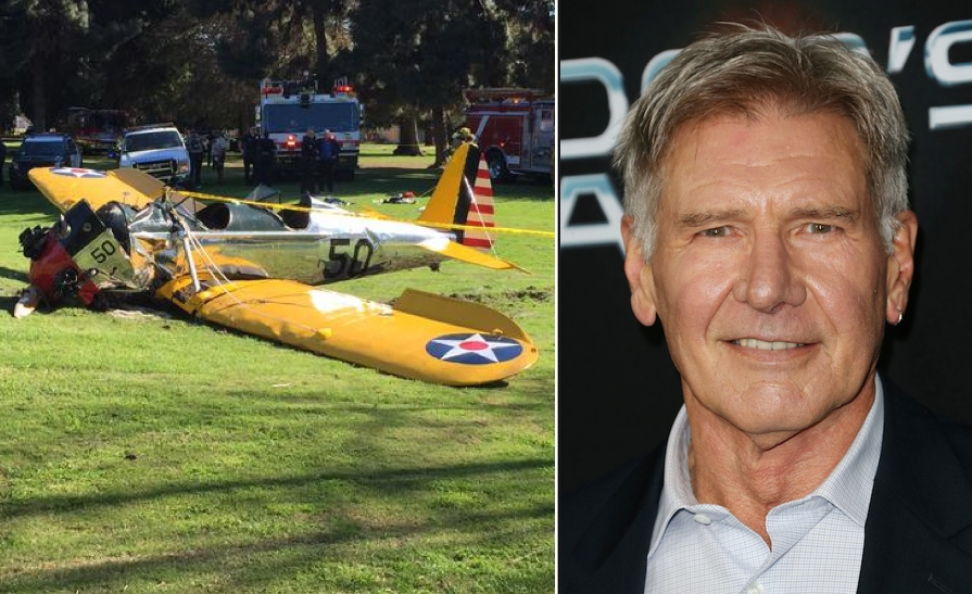 Don't tell him the odds: Harrison Ford crashes small plane, walks away despite serious injuries.