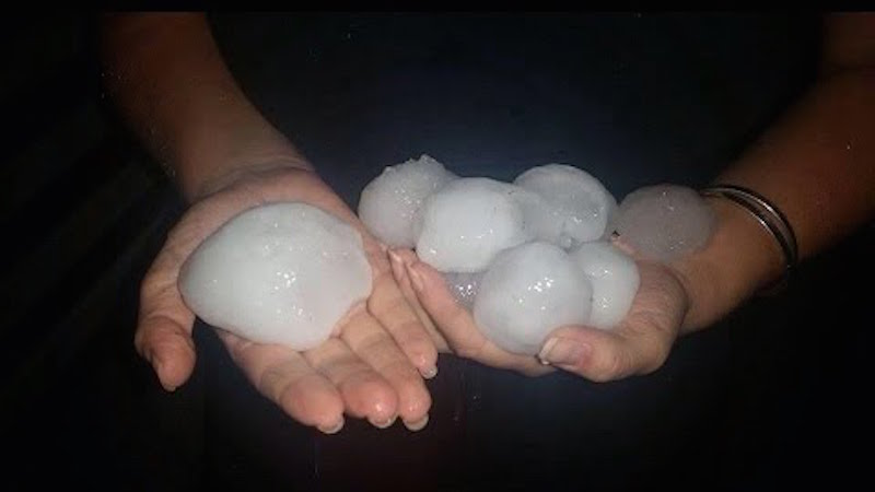 It's still cold in America, but at least we're not getting hit with apple-sized hail.