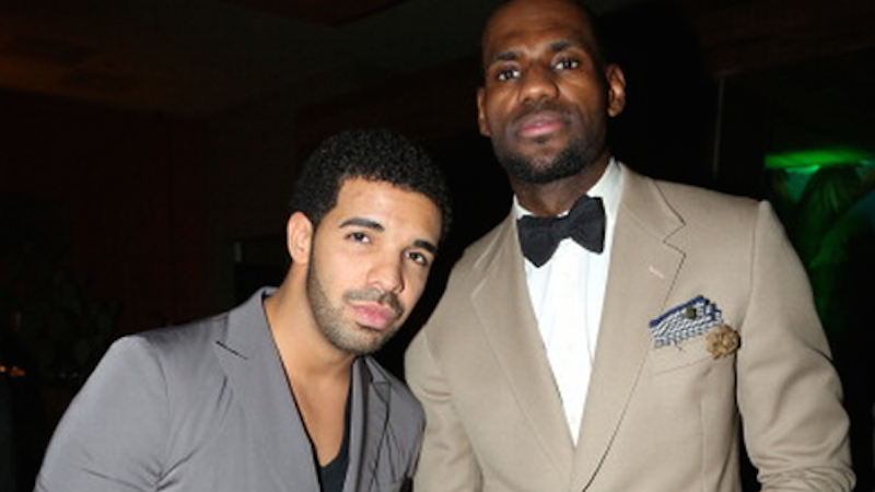 Drake's feud with Meek Mill is almost as amusing as the fact that he plays kickball with LeBron.