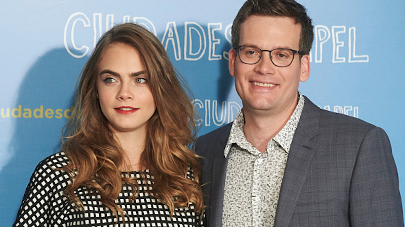 "John Green defended how ""admirable"" Cara Delevingne was in that weird interview."