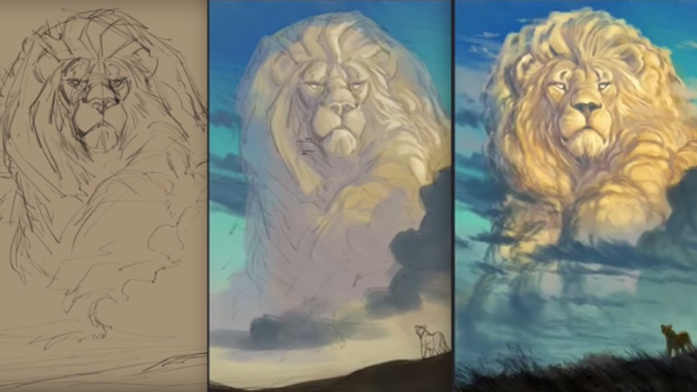 'Lion King' artist's tribute to Cecil the Lion will let you cry about Cecil and Mufasa simultaneously.