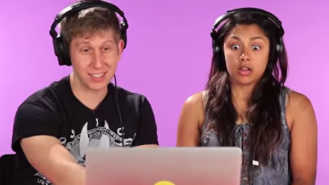 A bunch of porn stars watched their own videos with random strangers, and it's endearingly awkward.