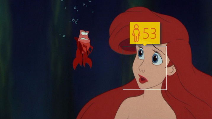 Disney princesses don't fare too well with the #HowOld bot.